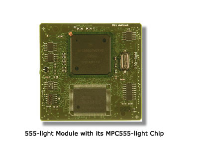 555-light Module with its MPC555-light Chip